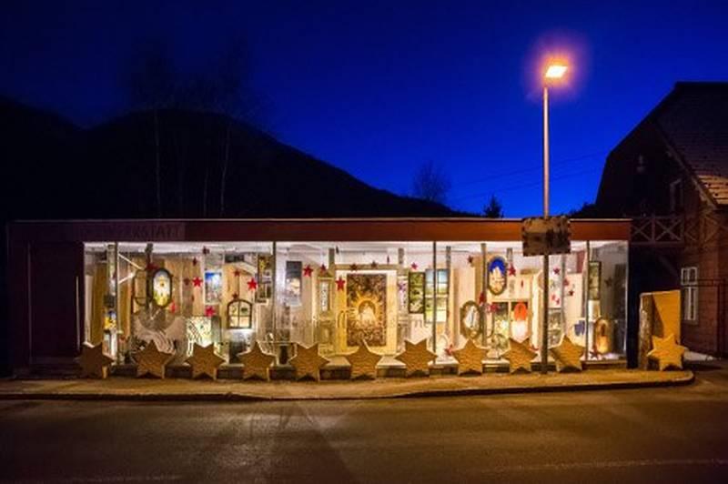 Sterne im Advent - Adventkalender Holzwerkstatt