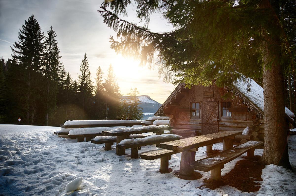 Wanderung zur Holzknechthütte